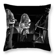 Ls Spo #21 Enhanced Bw Throw Pillow