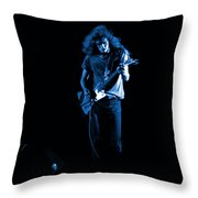 Ls Spo #25 In Blue Throw Pillow