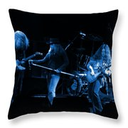 Ls Spo #26 Enhanced In Blue Throw Pillow