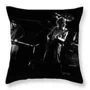Ls Spo #35 Enhanced Bw Throw Pillow