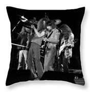 Ls Spo #68 Enhanced Bw Throw Pillow