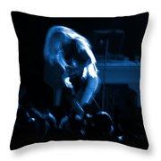 Ls Spo #79 Crop 2 In Blue Throw Pillow