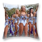 Lsu Marching Band 4 Throw Pillow