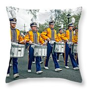 Lsu Marching Band Throw Pillow