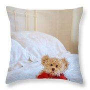 Lttle Bear Throw Pillow