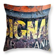 Lubricant Picking Throw Pillow