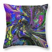 Lucid Dream - The Garden Throw Pillow