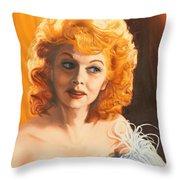 Lucille Desiree Throw Pillow