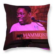Lucky Peterson Throw Pillow