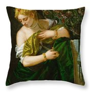 Lucretia Throw Pillow