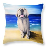 Lucy II Throw Pillow