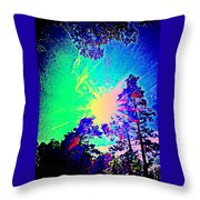 Lucy In The Sky With Diamonds Shining Right Back At You Throw Pillow