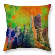 Lucy In The Sky... Throw Pillow