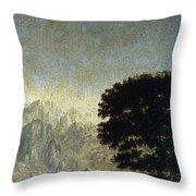 Ludlow Castle, Shropshire Throw Pillow