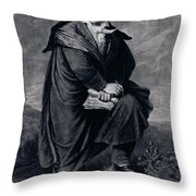 Ludwig Van Beethoven , German Composer Throw Pillow