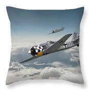 Luftwaffe - Fw190 Throw Pillow