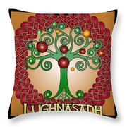 Lughnasadh Festival Throw Pillow