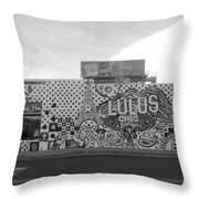 Lulu's Bw Throw Pillow