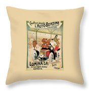 Lumina Geneve Throw Pillow