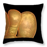 Luminescence - Toes Throw Pillow