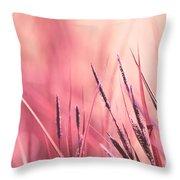 Luminis - S09c - Pink Throw Pillow