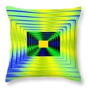 Luminous Energy 18 Throw Pillow