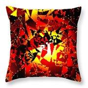 Luminous Energy 24 Throw Pillow