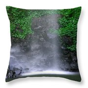Luminous Falls Throw Pillow