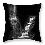 Luminous Waters Iv Throw Pillow