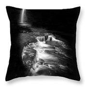 Luminous Waters Vi Throw Pillow