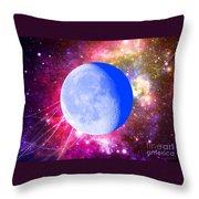 Lunar Magic Throw Pillow