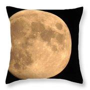 Lunar Mood Throw Pillow