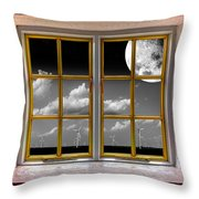 Lunar Power Throw Pillow