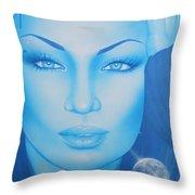 Lunarium Throw Pillow
