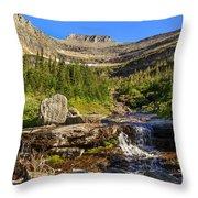 Lunch Creek  Throw Pillow