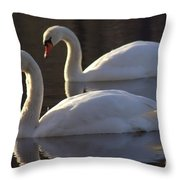 Lunch Date Throw Pillow
