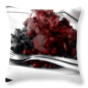 Lunch In Ubud  Throw Pillow