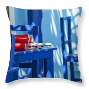 Lunch Is Over Throw Pillow
