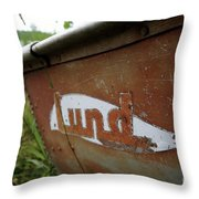 Lund Fishing Boat Throw Pillow