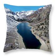 Lundy Lake Throw Pillow