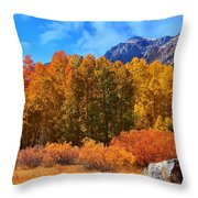 Lundy's Fall Show Throw Pillow
