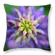 Lupine - Top Down Throw Pillow