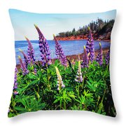 Lupine Bay Fortune Throw Pillow
