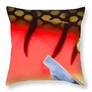 Lure Close 5 Throw Pillow