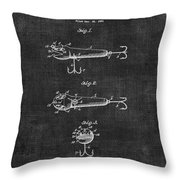 Lures Eger Patent 036 Throw Pillow