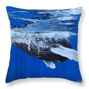 Lusus Naturae Throw Pillow