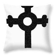 Lutheran Cross Throw Pillow