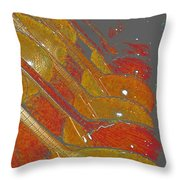 Lutherie Throw Pillow