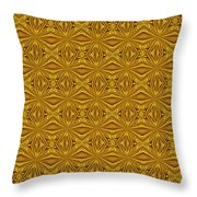 Luxury Red And Gold Foil Christmas Pattern Throw Pillow