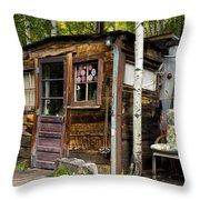 Luxury Ski Lodge In Telluride Co Dsc07461 Throw Pillow